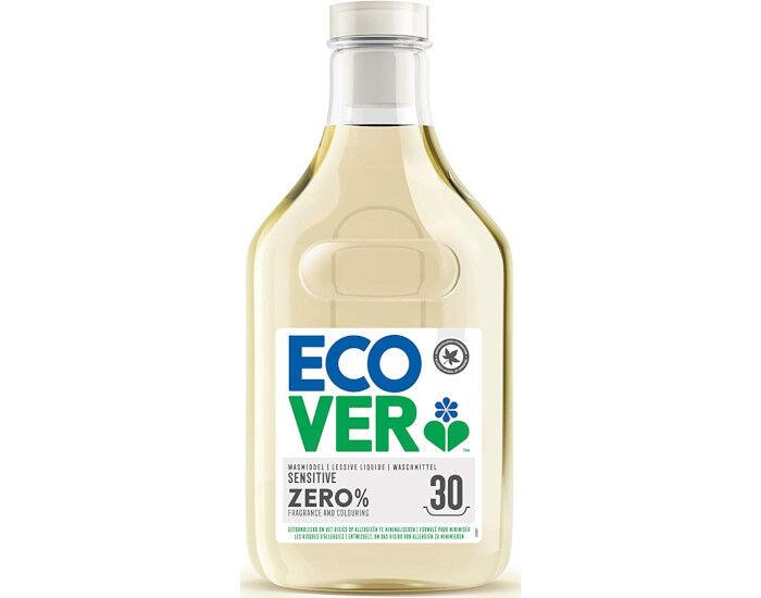 ECOVER Zero Lessive Liquide 0% - Peaux Sensibles - 1.5 L