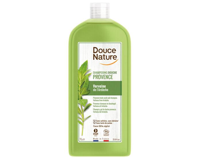 DOUCE NATURE Shampoing-Douche Provence Verveine de L'Ardèche - 1L