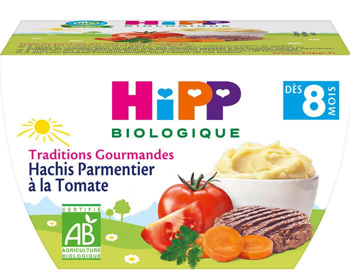 HIPP Bol Traditions Gourmandes - 190g Hachis Parmentier à la Tomate - 8M