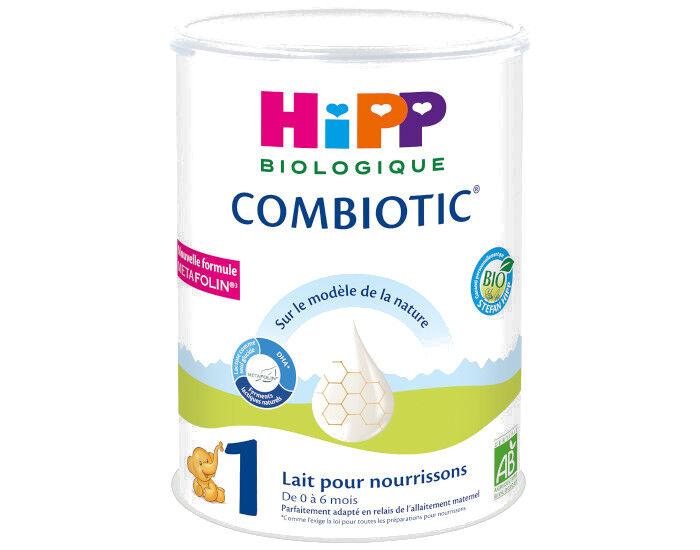 HIPP Lait pour Nourrisson 1 Combiotic - De 0 à 6 Mois - 900g
