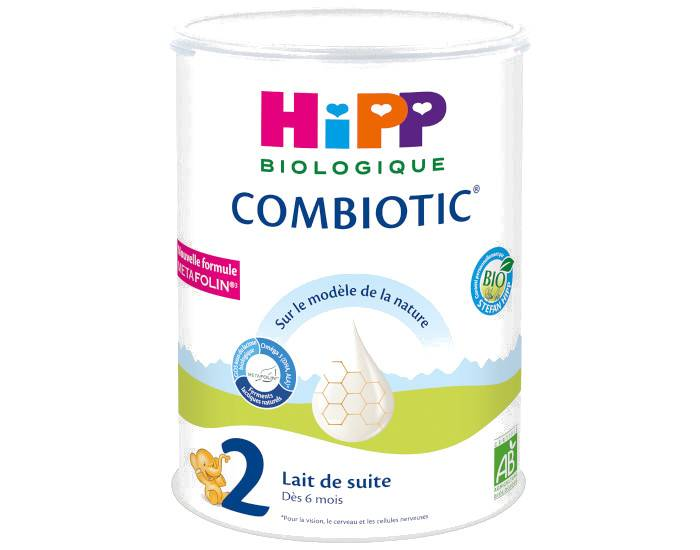 HIPP Lait de Suite 2 Combiotic - Dès 6 Mois - 900g