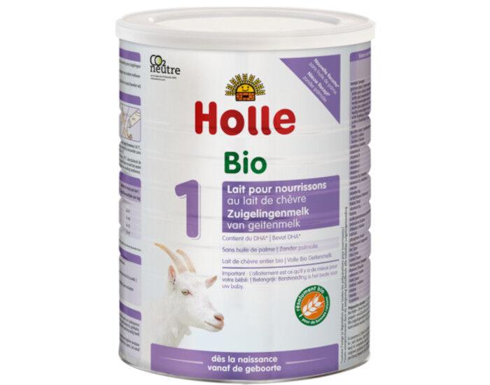HOLLE Préparation en Poudre à Base de Lait de Chèvre - De 0 à 6 mois - 400 g