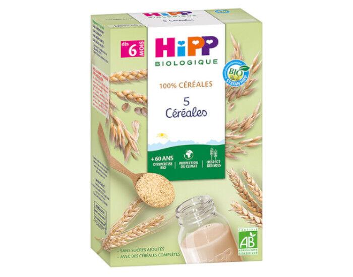 HIPP 100% Céréales - 5 Céréales - Dès 8 mois