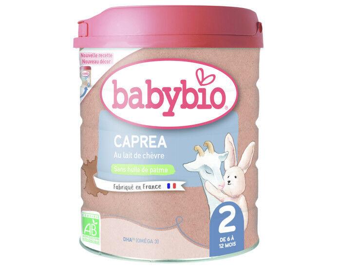 BABYBIO Lait de Suite Capréa 2 - 900g - Dès 6 Mois