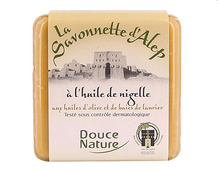 DOUCE NATURE Savonnette d'Alep à la Nigelle - 100 g