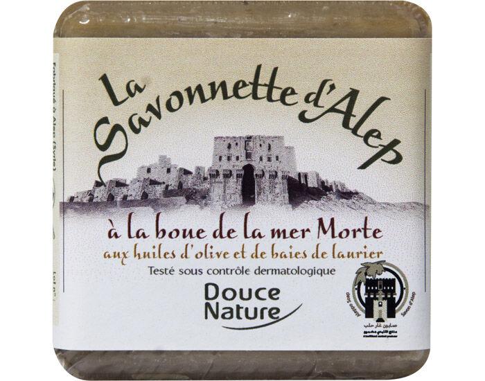 DOUCE NATURE Savonnette d'Alep Boue de la Mer Morte - 100 g
