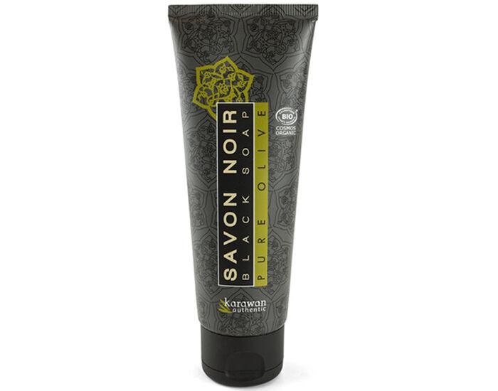 KARAWAN Savon Noir Pure Olive - Tube de 120ml