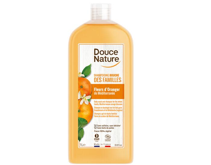 DOUCE NATURE Shampooing Douche des Familles - 1 L