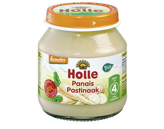 HOLLE Petit Pot Légume Purée de Panais - 125 g - Dès 4 mois