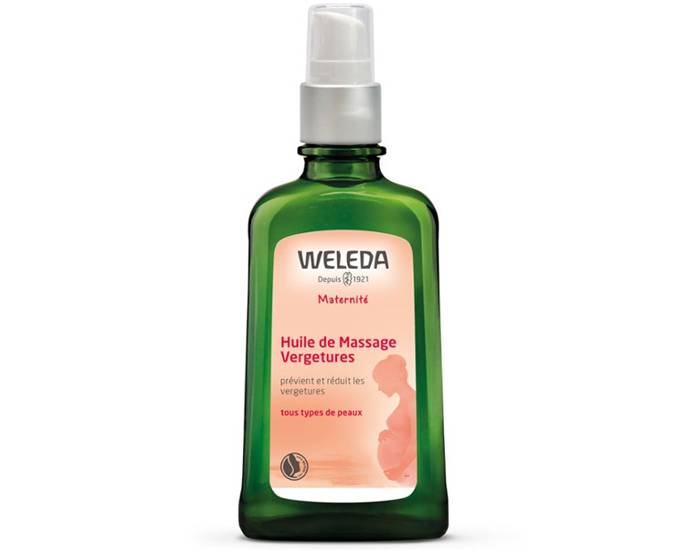 WELEDA Huile de Massage Vergetures - 100 ml