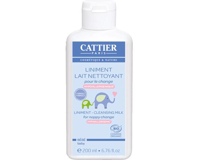 CATTIER Pack x2 Lait Nettoyant pour le Change - 200 ml Lot de 2