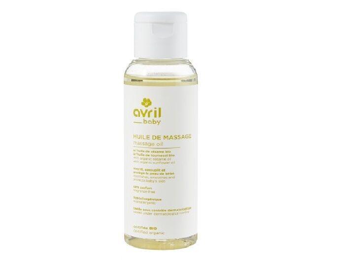 AVRIL BABY Huile de Massage Bébé - 100 ml