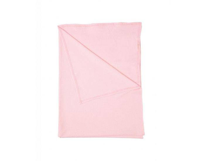 BEBESEO Couverture Bio 75 x100 cm Rose