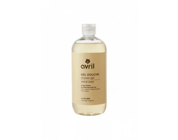 AVRIL Gel Douche Caramel Bio - 500 ml