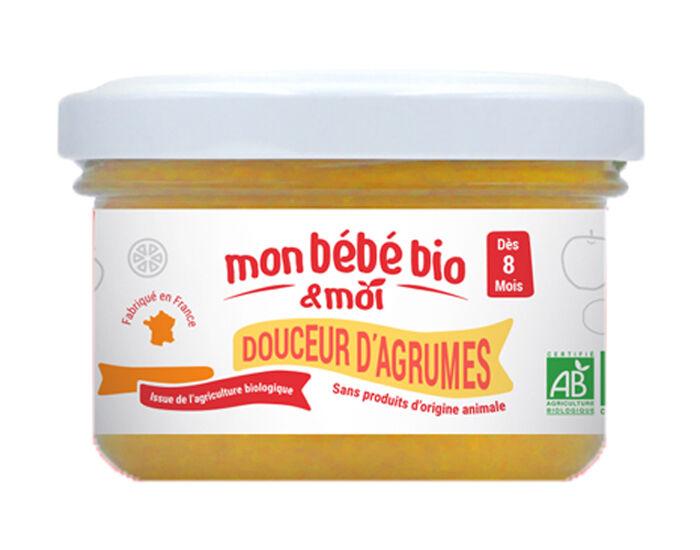 MON BéBé BIO ET MOI MON BEBE BIO ET MOI Pot Douceur d'Agrumes - 100 g - Dès 8 mois