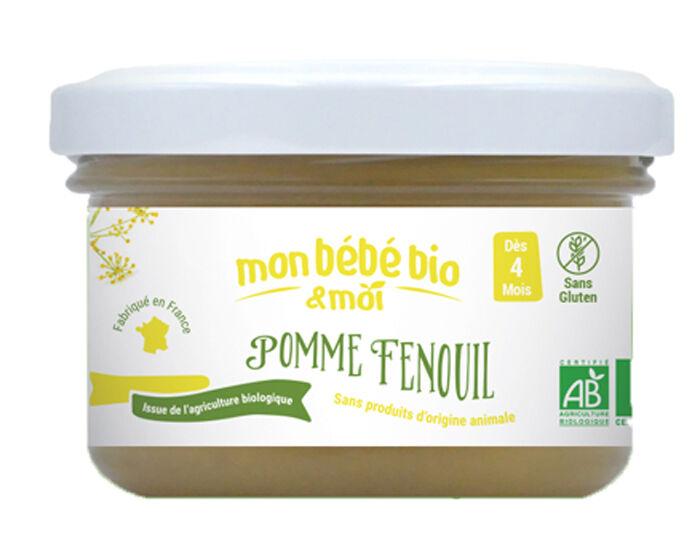 MON BéBé BIO ET MOI MON BEBE BIO ET MOI Pot Pomme Fenouil - 100 g - Dès 4 mois
