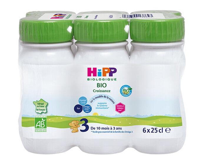 HIPP Croissance Combiotic - Dès 10 Mois - 6 x 25cl