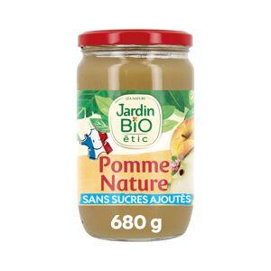 JARDIN BIO Compote Familiale Biofruits Pomme Nature - 680g