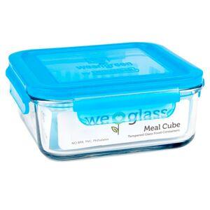 WEANGREEN Pot de Conservation en Verre - 850 ml Bleu