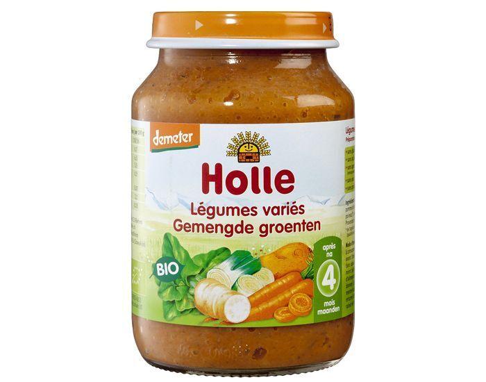 HOLLE Petit Pot Légume - 190 g Mélange de Légumes - 4M
