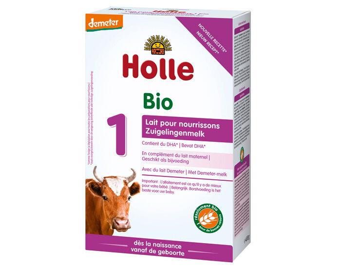 HOLLE Lait pour Nourrisson 1 - de 0 à 6 mois - 400 g