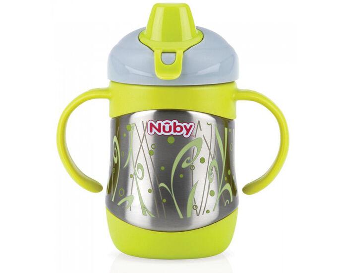 NUBY Gourde Thermos en Acier Inox - 220 ml