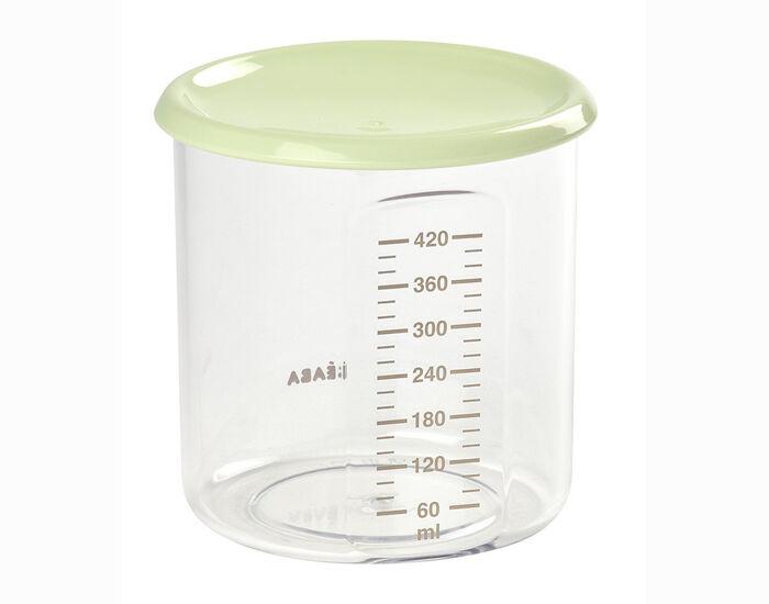 BéABA BEABA Pot de Conservation Maxi Portion - 420 ml Light Green