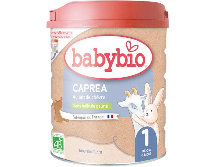 BABYBIO Lait pour Nourrisson 1 Capréa - Dès la Naissance - 900g