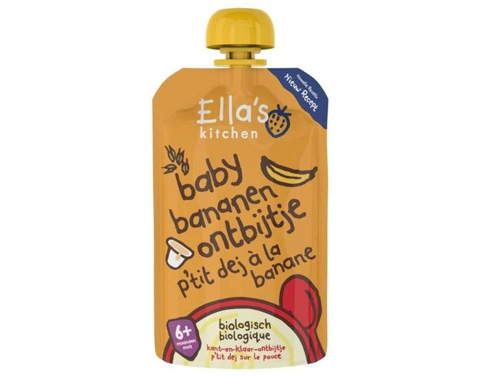 ELLA'S KITCHEN P'tit Déj à la Banane - Dès 6 mois - 100 g