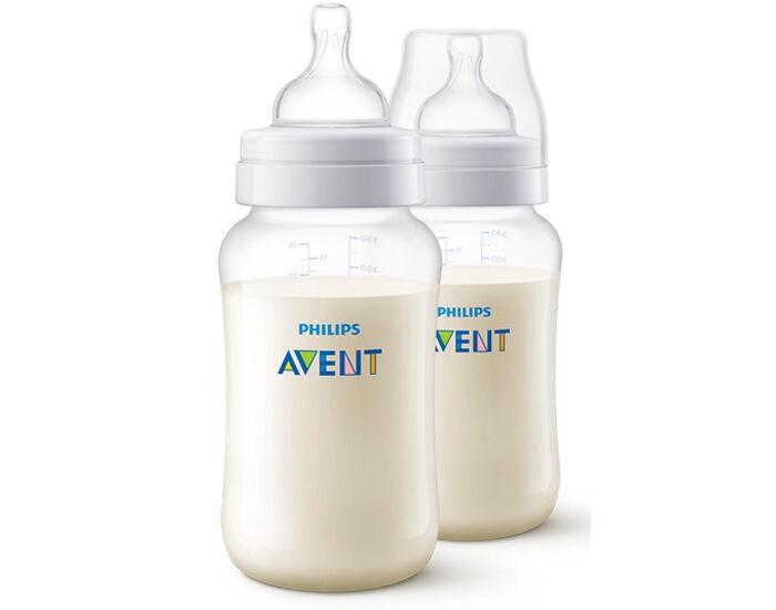AVENT Biberon Anti-colic - Lot de 2 x 330 ml