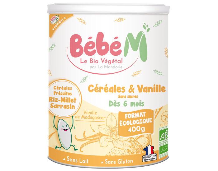 LA MANDORLE Céréales Vanille - 400g - Dès 6 mois