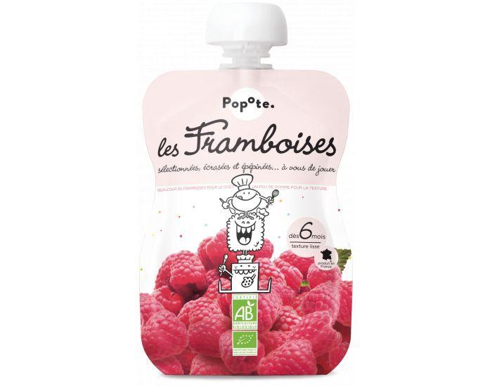 POPOTE Les Framboises - Lot de 10 gourdes - Dès 6 mois