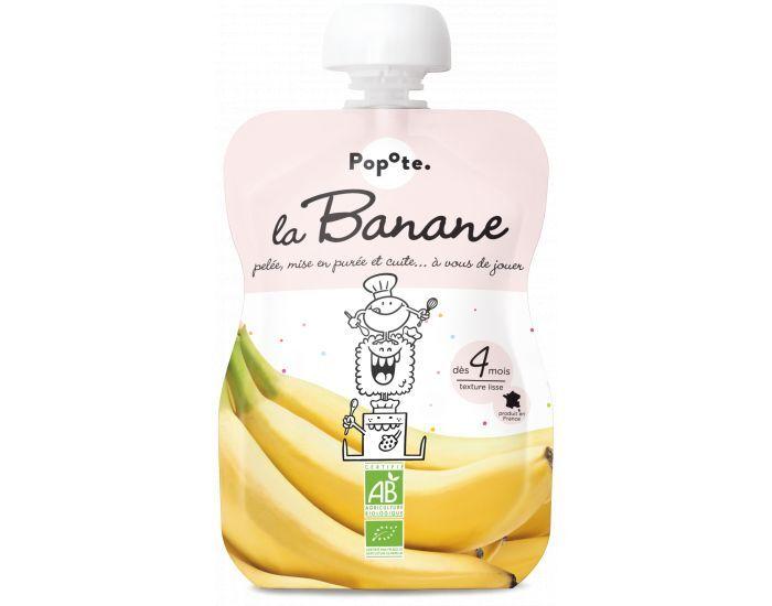 POPOTE La Banane - Lot de 10 gourdes - Dès 4 mois