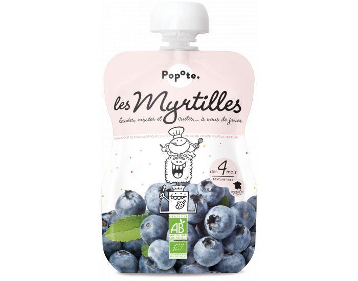 POPOTE Les Myrtilles - Lot de 10 gourdes - Dès 4 mois