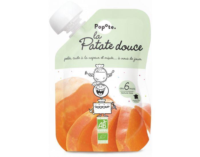 POPOTE La Patate Douce - Lot de 10 gourdes - Dès 6 mois