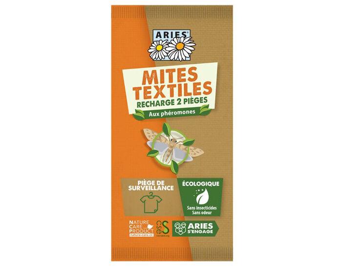 ARIES Recharges pour Piège à Mites Textiles Mitbox - Lot de 2