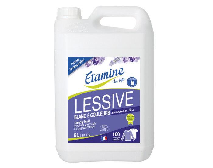 ETAMINE DU LYS Lessive Liquide à la Lavande 5 L