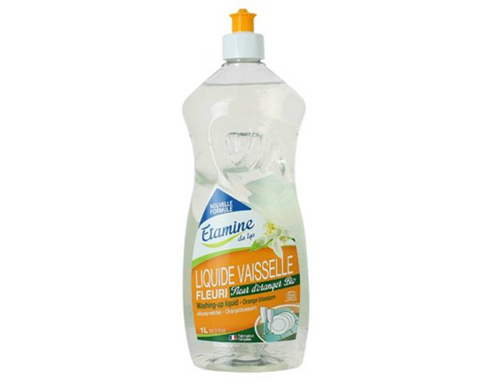 ETAMINE DU LYS Liquide Vaisselle Main Fleur d'Oranger 1L