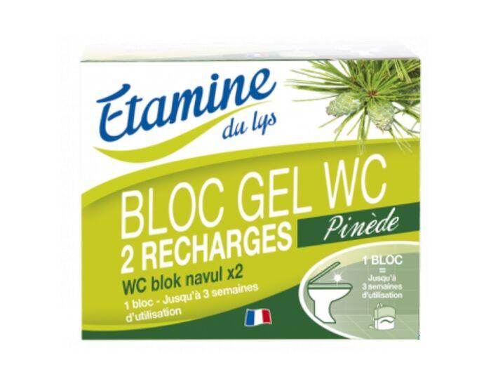 ETAMINE DU LYS Recharges Bloc Gel WC - 2 x 50 ml