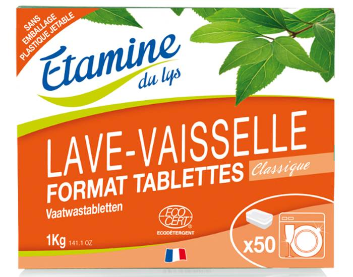 ETAMINE DU LYS Tablettes Lave-vaisselle - 1 kg