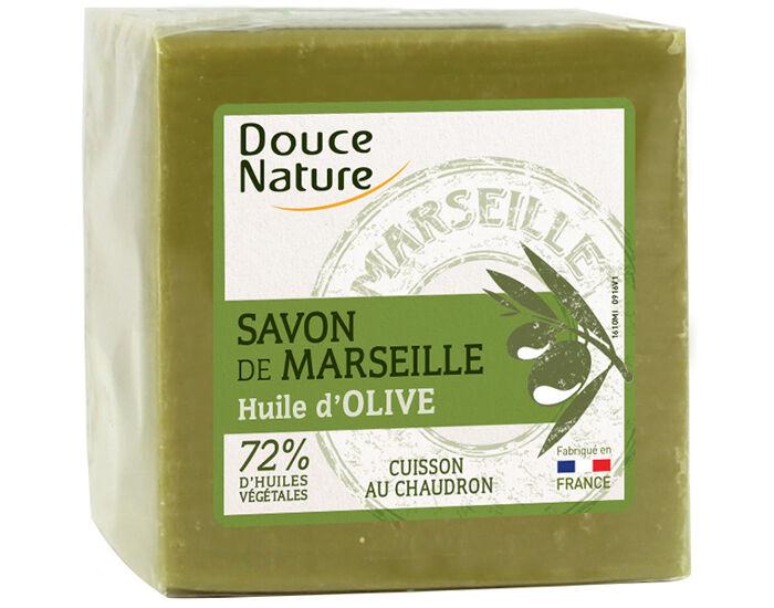 DOUCE NATURE Pack Savon Vert de Marseille x4 savons