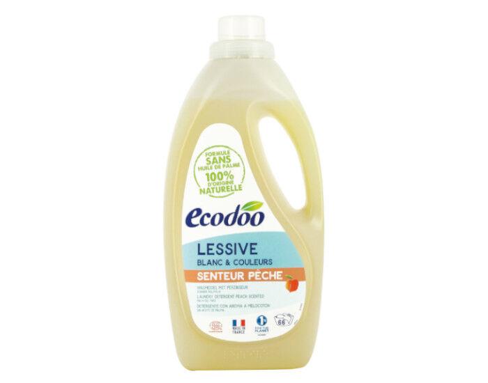 ECODOO Lessive Liquide Ecologique - Senteur Pêche 1,5L