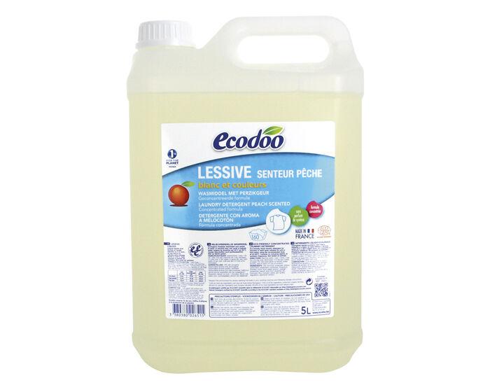 ECODOO Lessive Liquide Ecologique - Senteur Pêche 5L