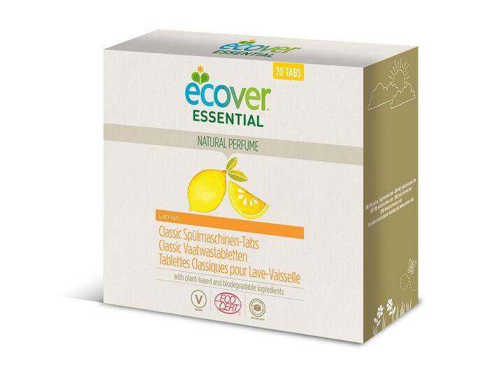 ECOVER Tablettes Lave-Vaisselle 70 tablettes - 1.4 kg