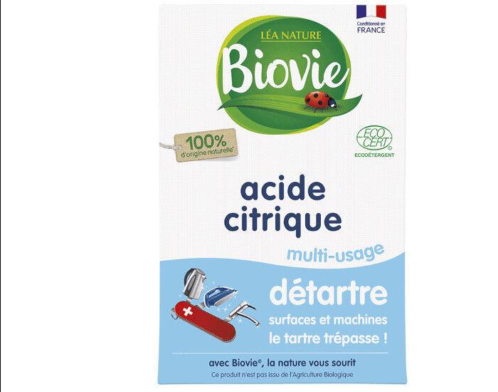 BIOVIE Acide Citrique Super Détartrant - 350 g
