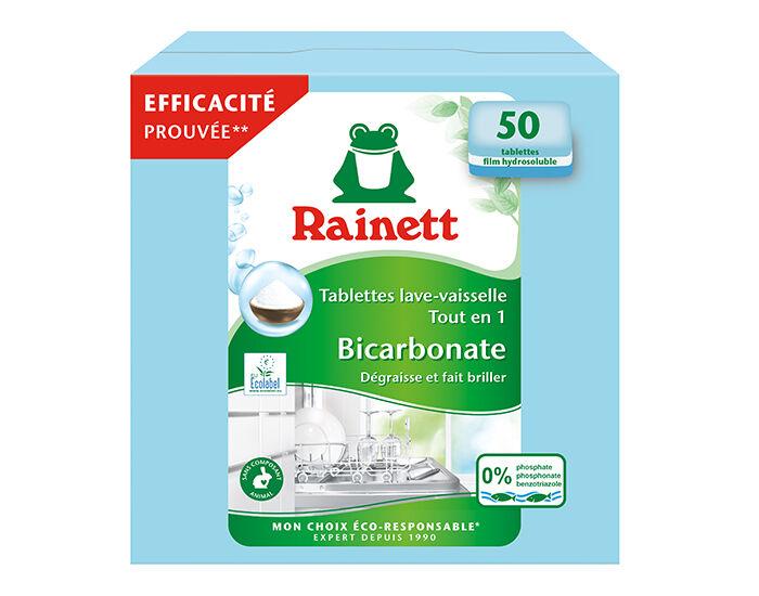 RAINETT Tablettes Lave Vaisselle Tout en 1 - x50