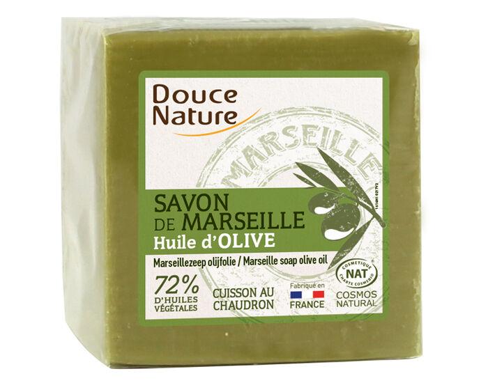 DOUCE NATURE Savon Vert de Marseille - 300 g