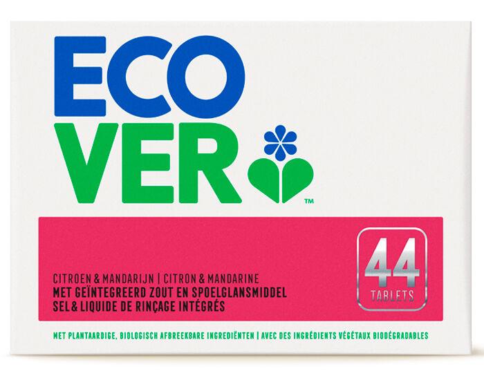 ECOVER Tablettes Lave-Vaisselle Tout-en-Un 44 tablettes - 0.88 kg