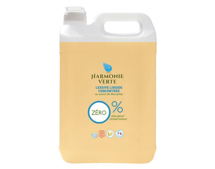 HARMONIE VERTE Lessive Liquide Concentrée 5L
