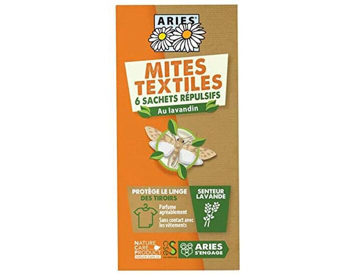 ARIES Anti Mites Textiles Protection Tiroirs - 6 Sachets